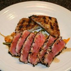 """Sesame Seared Tuna 