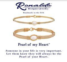 Pearl of My Heart Bracelet www.aperfectpresent.com