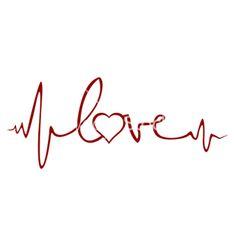 Heartbeat tattoo by Ashley Necole Kiser Future Tattoos, Love Tattoos, Beautiful Tattoos, New Tattoos, Body Art Tattoos, Small Tattoos, Tatoos, Ekg Tattoo, Piercing Tattoo