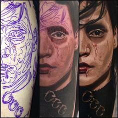 Edward Scissorhands #Tattoo By Nikko Hurtado