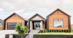 Brick Cladding, House Cladding, Facade House, Farmhouse Architecture, Modern Farmhouse Exterior, Architecture Design, Modern Barn House, House Goals, House Colors