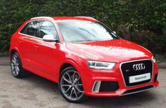 Used 2014 (14 reg) Red Audi Rs Q3 2.5T FSI Quattro 5dr S Tronic for sale on RAC Cars