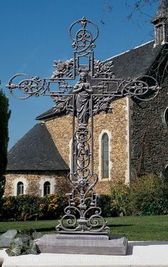 Our Lady of the Roses Iron Cross