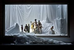 Viaggio a Reims. Dutch National Opera, Kopenhagen and Opera Australia. Scenic design by Paolo Fantin. Lighting by Alessandro Carletti.