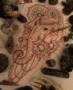 elephants tattoo design elephants tattoo design Canvases is part of tattoos - elephants tattoo design Canvases is part of Elephant Tattoo Designs The Body Is A Canvas Tattoo idea's Leni Winstel Leni tattoo Winstel Badass Sleeve Tattoos, Space Tattoo Sleeve, Tribal Sleeve Tattoos, Sleeve Tattoos For Women, Tattoo Sleeve Designs, Women Sleeve, Hip Tattoos Women, Tattoo Sleeves, Geometric Tattoos