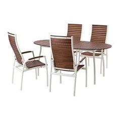 gartenmöbel set aus holz, metall oder kunststoff - ikea, Moderne