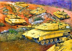 History of the Israeli Merkava Tank- by Tuvia Kurz