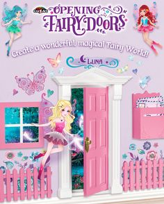 Create a wonderful, magical fairy world in your very own home with our Opening Fairy Doors Play Sets. Art Activities For Kids, Crafts For Kids, Arts And Crafts, Magical Bedroom, Dream Bedroom, Opening Fairy Doors, Tooth Fairy Doors, Play Sets, Z Arts
