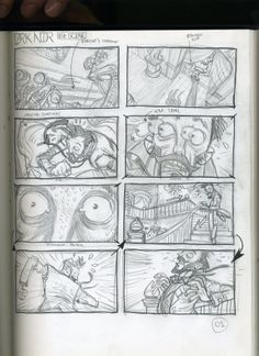 Storyboard by Rafael Grampá