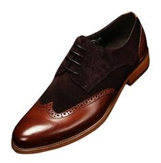 KLUOT Mens New Leather Brogue Shoes Lace Ups Dress Wedding Shoes Brown 37 EU KLUOT http://www.amazon.com/dp/B00JUEC1HM/ref=cm_sw_r_pi_dp_Bv0Uub0X75N63