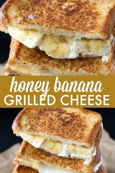 Honey Banana Grilled Cheese Sandwich – Elevate your breakfast with a sweet sandwich your family will love! Honey Banana Grilled Cheese Sandwich – Elevate your breakfast with a sweet sandwich your family will love! Reuben Sandwich, Sandwich Torte, Subway Sandwich, Banana Sandwich, Gourmet Sandwiches, Wrap Sandwiches, Baked Sandwiches, Dinner Sandwiches, Grilled Cheese Recipes