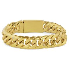 Buy Fort Tempus - Gold-Toned Chain Bracelet for only Shop at Trendhim and get returns. We take pride in providing an excellent experience. Paracord Bracelets, Bracelets For Men, Beaded Bracelets, Bracelet Cuir, Bracelet Set, Stainless Steel Chain, Stone Beads, Mens Fashion, Diy Wall
