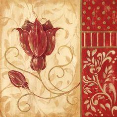 Red Tulip II Fine-Art Print by Jo Moulton at UrbanLoftArt.com