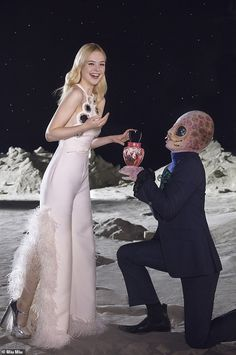 Elle Fanning dazzles in fragrance campaign for Miu Miu,,, as she poses up a storm for new scent Ellie Fanning, Dakota And Elle Fanning, Fanning Sisters, Alien Character, Couture Collection, Miu Miu, Catwalk, Celebrity Style, Celebs