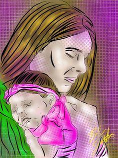 Natalie & Serenity by B.C. Smith 2013 - Created In #procreateapp