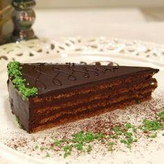 Рецепт приготовления популярного болгарского десерта - торта Гараш. Неповторимый насыщенный вкус шоколада и орехов - достойный венец трапезы.