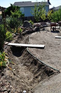 creating dry creek bed
