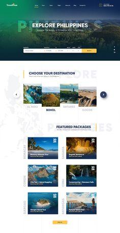 Travel Agency Web Design Concept on Behance - Forest Website - Travel Agency Website, Travel Website Design, Site Web Design, Online Web Design, Creative Web Design, Website Design Services, Web Design Tips, Web Design Company, Travel Design