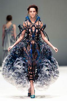 Yiqing Yin, French Couture Fashion Week 2012 Singapore