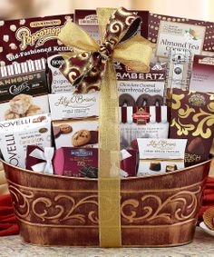 Chocolate & Snacks Gift Basket