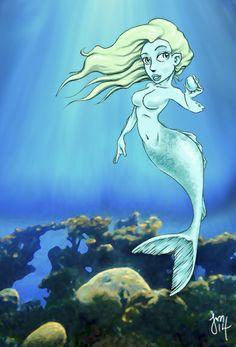 Mermaid by Jason Martian