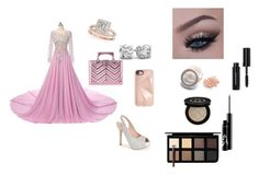 """Wedding night"" by soccer-742 ❤ liked on Polyvore featuring Lauren Lorraine, Gucci, Rebecca Minkoff, Allurez, Bobbi Brown Cosmetics and Down to Earth"