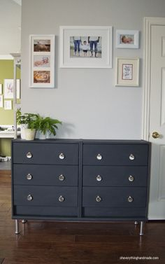 #Ikea Rast makeover ... check out this interesting makeover of an IKEA rast 3 drawer chest! ~m
