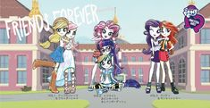 """Equestria Daily - MLP Stuff!: New """"Knowidea"""" Japanese Acrylic Stand Figures for Friends Forever Equestria Girls Line"""