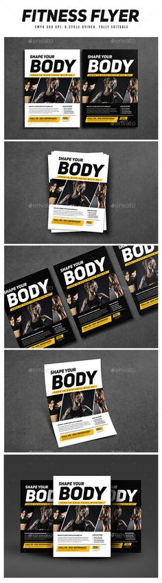 #Fitness Flyer - Sports Events Download here: https://graphicriver.net/item/fitness-flyer/16538520?ref=classicdesignp
