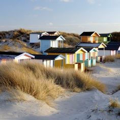 Beach Huts in Vellinge, Skåne