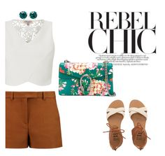 """""""Rebel Chic?"""" by angel-with-shotgun ❤ liked on Polyvore featuring Emilio Pucci, Lipsy, Billabong, Kent & King and Gucci"""