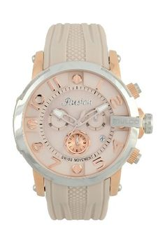 Women's Wrist Watches - MULCO Unisex MW312239113 Ilusion Roll Analog Display Swiss Quartz Beige Watch -- Details can be found by clicking on the image.