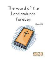 Bible Verse Material