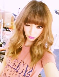 Gyaru Make up and cute hair
