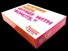 Ross Wolinsky 187s it for Dunkin' Donuts