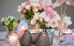 Centros de mesa para una boda vintage: Las mejores ideas [FOTOS] - ¿Estás buscando centros de mesa para una boda vintage? En Ella Hoy te mostramos los mejores para el día de tu boda. ¡Mira la galería de fotos!