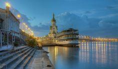 Kyiv (Kiev), Dnipro river evening, #Ukraine