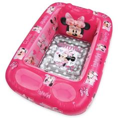 Product Image for Disney® Minnie Mouse Inflatable Bath Tub 1 out of 3