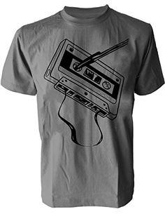 SODAtees classic audio cassette tape DJ club Men's T-SHIRT graphic tee - Grey - Small SODAtees http://www.amazon.com/dp/B00X3USZC4/ref=cm_sw_r_pi_dp_is3rvb0K2BN2T