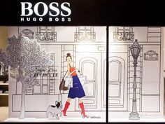 Storefront Story Romances The Hugo Boss Storybook Window Display Tells a Charming Tale #HugoBoss