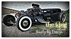 the KING rat rod...keeping LONESTAR ROUNDUP 2014 interesting