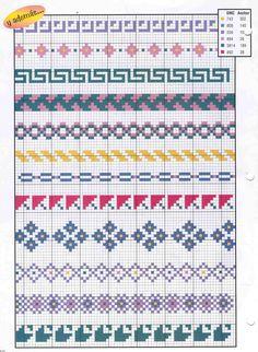 Brilliant Cross Stitch Embroidery Tips Ideas. Mesmerizing Cross Stitch Embroidery Tips Ideas. Cross Stitch Boarders, Cross Stitch Numbers, Cross Stitch Bookmarks, Cross Stitch Designs, Cross Stitching, Cross Stitch Embroidery, Cross Stitch Patterns, Fair Isle Knitting Patterns, Knitting Charts