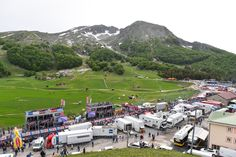 1級山岳カンピテッロ・マテーゼのフィニッシュ地点