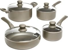 Oster 91910.08 Progreso 8-Piece Cookware Set, Gold ** Unbelievable  item right here! : Cookware Sets