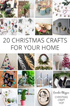 Canadian-Bloggers-Christmas-Craft-Hop-2017 #Christmascrafts #crafts #holidaycrafts