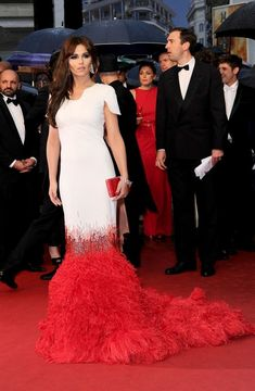 Cheryl Cole in Stephane Rolland Couture, 2012 - The Most Daring Dresses on the Cannes Red Carpet - Photos