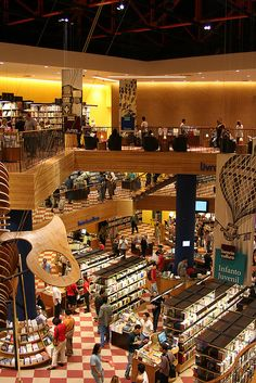 Livraria Cultura, São Paulo, Brasil. Sao Paulo Brazil, Brazil Travel, Bucket List Destinations, How To Be Likeable, Largest Countries, South America, Places To Travel, Travel Inspiration, The Neighbourhood