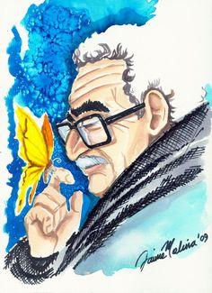 """Cuentos breves:  Gabriel García Márquez   Cuento: """"El drama del de..."""