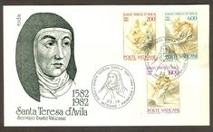 Vatican City Sc# 710-12: St. Teresa of Avila on FDC | eBay