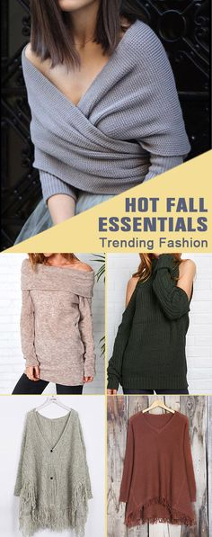 Always chic & stunning in Cupshe fall collections. Can't stop fashion wave in these hot sweaters. Keep your beauty and confidence in this romantic season. Check it out Cupshe.com !